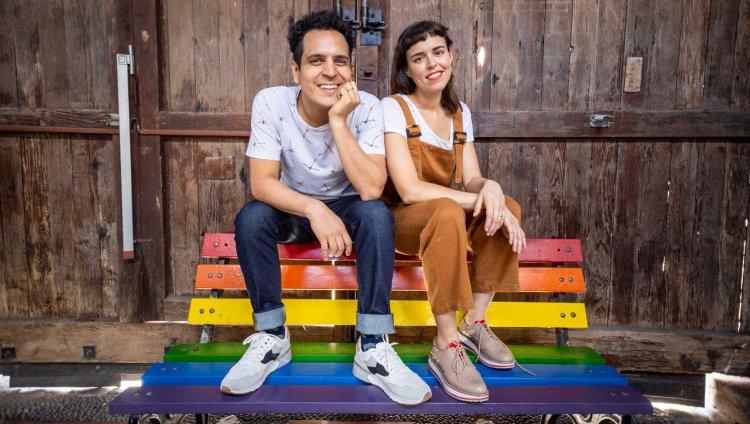 Alejandro y Maria Laura. Foto de Charlotte Beja cortesía de la banda.