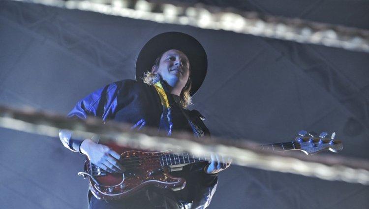 Win Butler - Arcade Fire. Todas las fotos de Andrés Alvarado (cortesía de Páramo Presenta).
