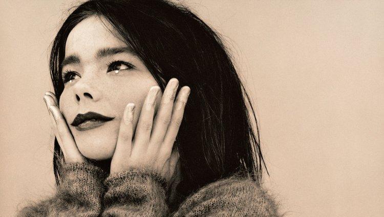 Björk en 1993. Imagen tomada de rokmusik.co