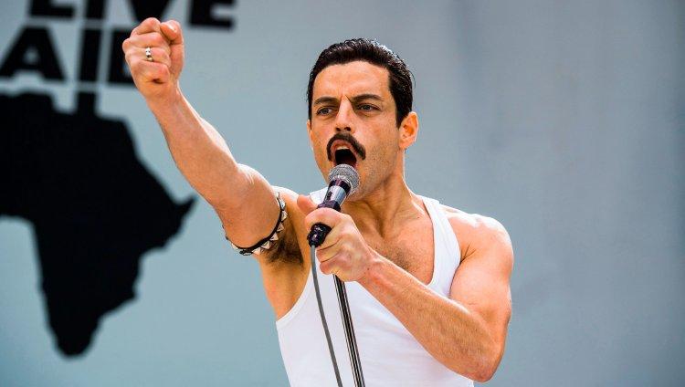 Rami Malek como Freddie Mercury en 'Bohemian Rhapsody'.