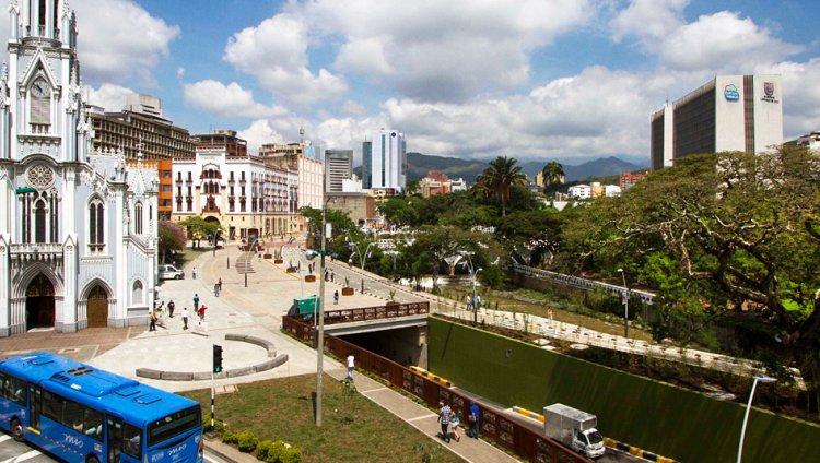 Santiago de Cali, centro de la ciudad
