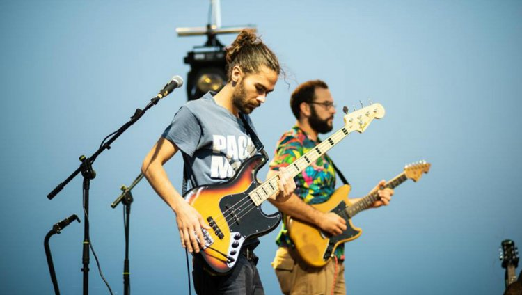 Candeleros en Transmusicales / Foto tomada del Facebook de la banda