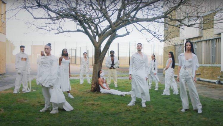 Captura de pantalla del video de Jungle