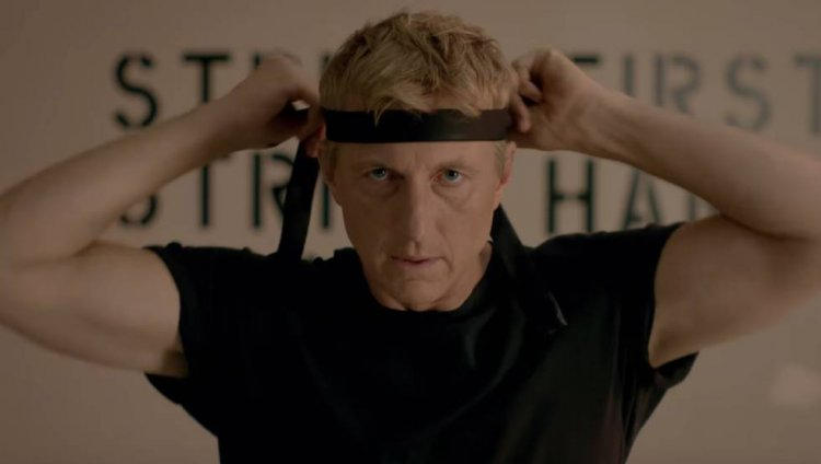 William Zabka, en 'Cobra Kai'.