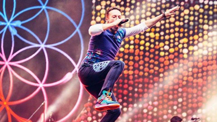 Foto tomada de Facebook: Coldplay