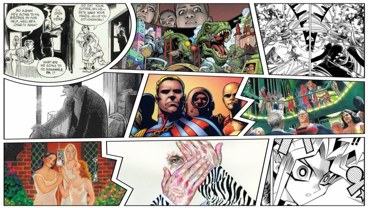 10 cómics de aniversario