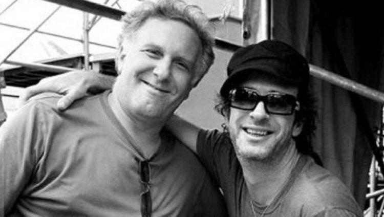 Daniel Sais y Gustavo Cerati. Foto tomada de Infobae.
