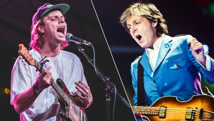 Mac DeMarco y Paul McCartney.