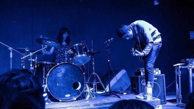 Electric Mistakes en el concierto de El Mató a un policía motorizado. Foto por André Piaf.