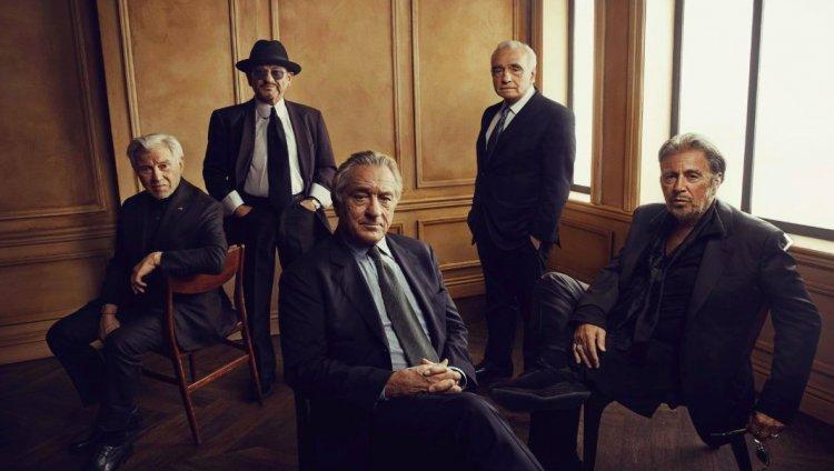 El Irlandés. De Niro, Pacino, Pesci, Keitel y Scorsese.