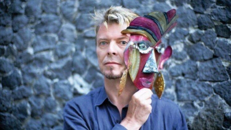 Bowie en la Casa Azul de Frida Kahlo. Foto de Fernando Aceves.