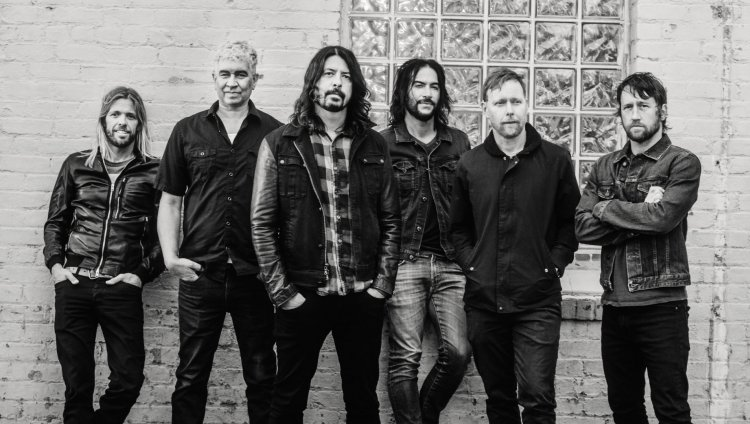 Foo Fighters estará en Colombia el 1 de octubre de 2019. Foto de Brantley Gutierrez.