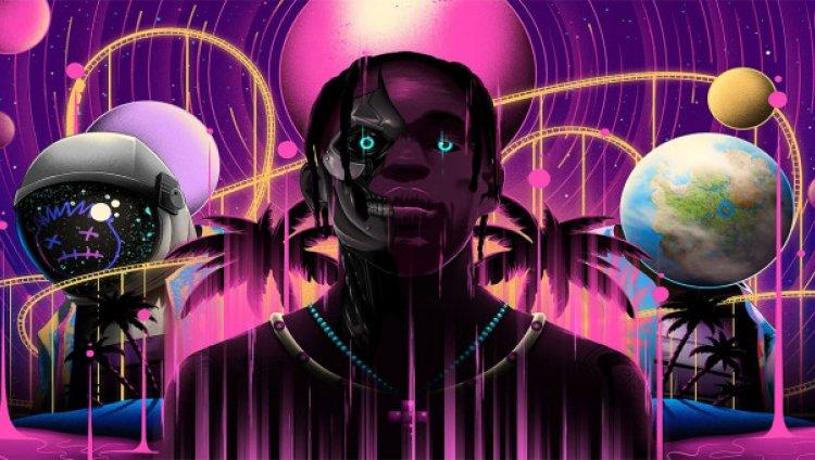"""""""Astronomical"""" de Travis Scott tuvo lugar del 24 al 26 de abril en directo en la isla Fortnite"""