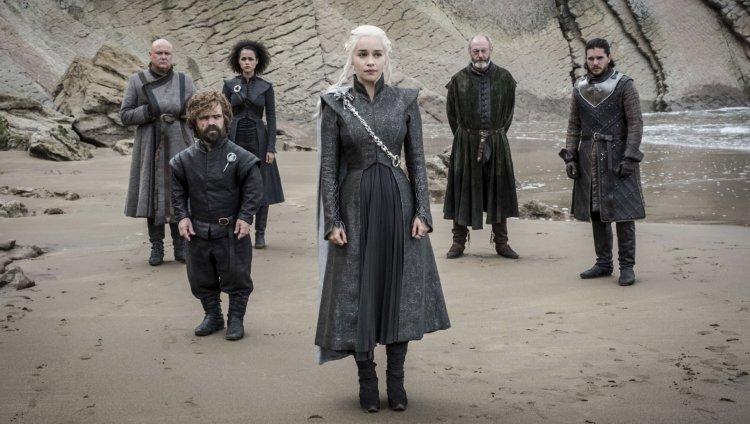 Parte de los personajes de Game Of Thrones. Imagen tomada de HBO.