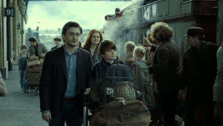 Daniel Radcliffe y Arthur Bowen.