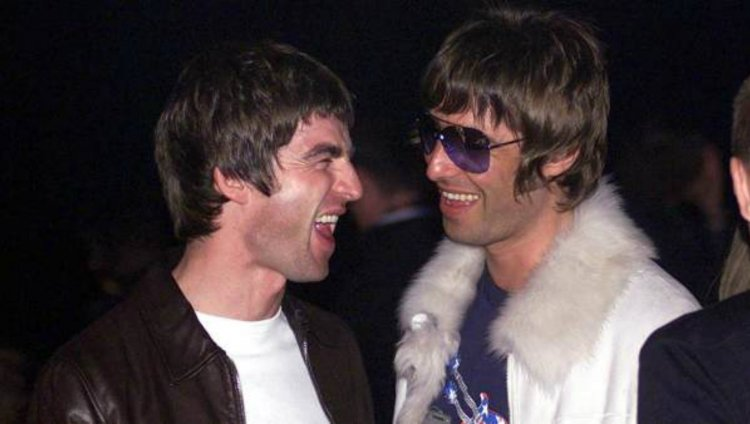 Los hermanos Noel y Liam Gallagher