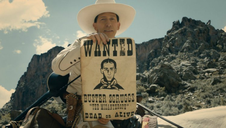 Tim Blake Nelson como Buster Scruggs