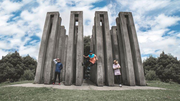 Los Kitsch, trío bogotano presente el Estéreo Picnic 2019. Foto cortesía de la banda.