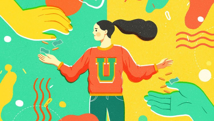 """Millennials and Pets (Make Change)"" by Geraldine"