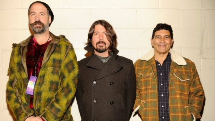 Krist Novoselic, Dave Grohl y Pat Smear