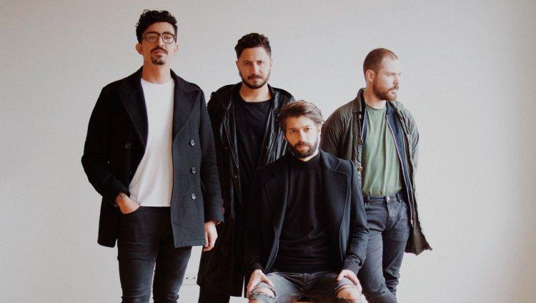 Oh'laville son Luis Lizarralde, Mateo París, Andrés Toro y Andrés Sierra. Foto cortesía de la banda.