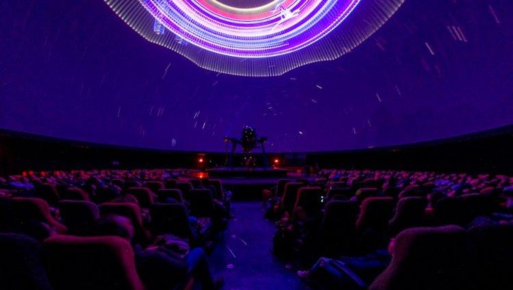 Domo del Planetario de Bogotá. Foto tomada de su Facebook oficial.