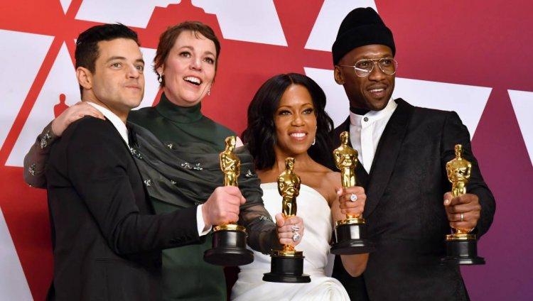 Ganadores en los Premios Oscar 2019. Foto tomada del Diario AS