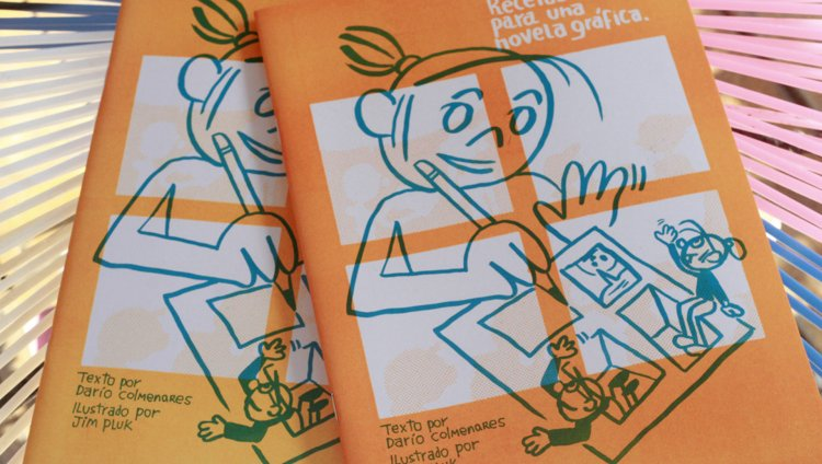 Recetas para una novela gráfica. Ilustrada por Jim Pluk