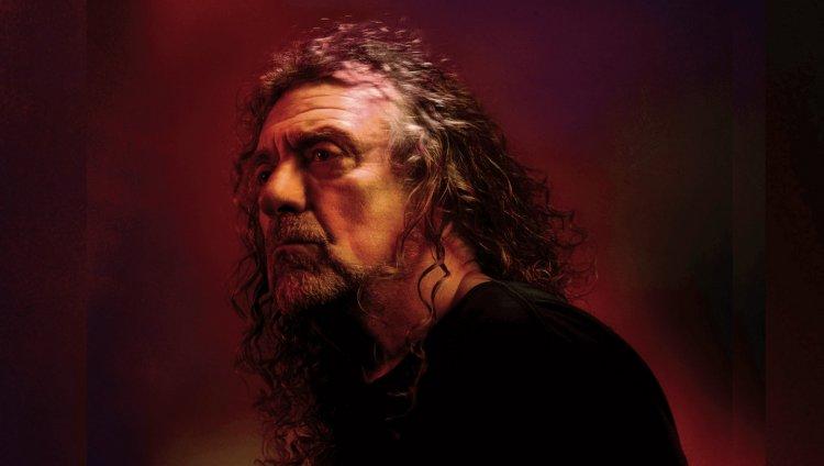 Foto tomada de la página oficial de Robert Plant.
