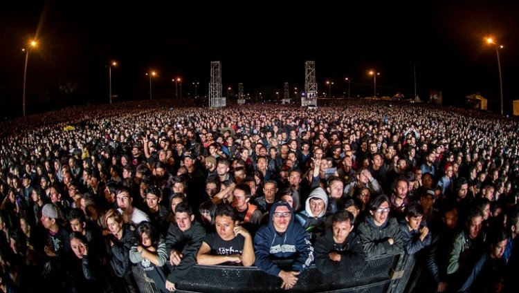 Rock al Parque. Foto tomada de Idartes.