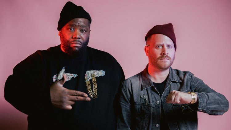 Run The Jewels nació en 2013 y son Killer Mike y El-P. Foto tomada de www.bombanoise.com