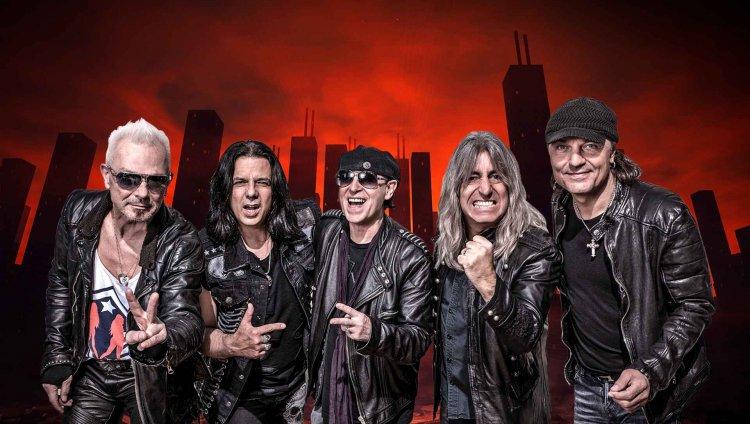 Scorpions, foto cortesía Move Concerts