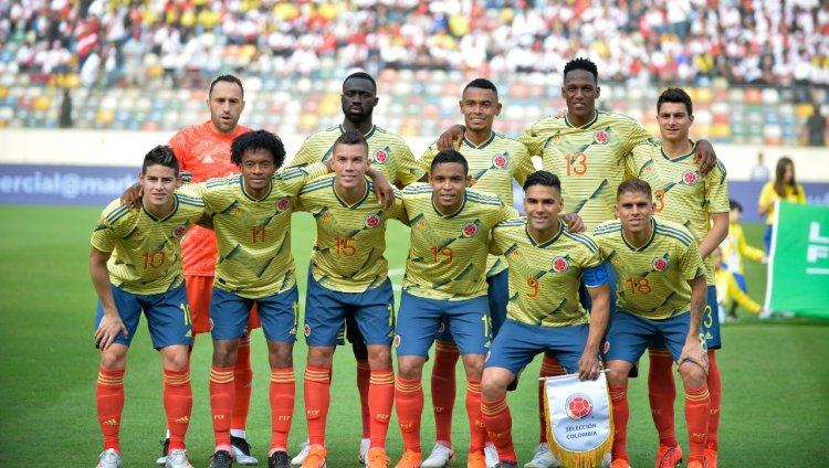 Selección Colombia 2019. Foto: Cortesía Federación Colombiana de Fútbol
