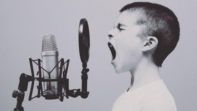 Niño gritando. Foto de Jason Rosewell en Unsplash.com