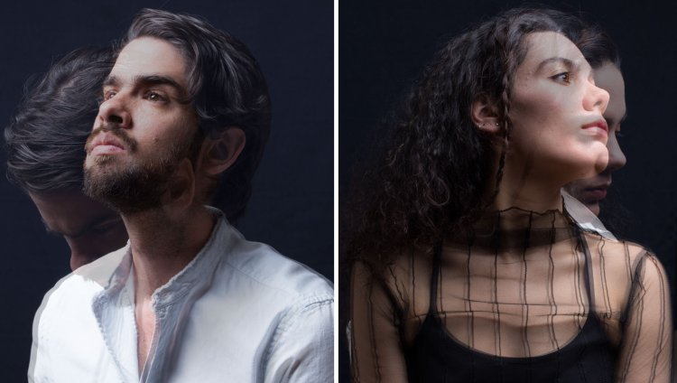 Felipe Ortega y María Mónica Guitérrez son Ságan. Foto de Nicolás Cañón cortesía de la banda.