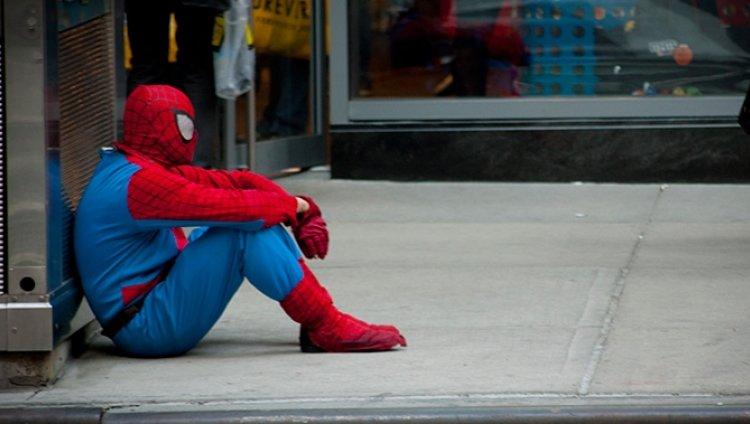 Spiderman busca trabajo