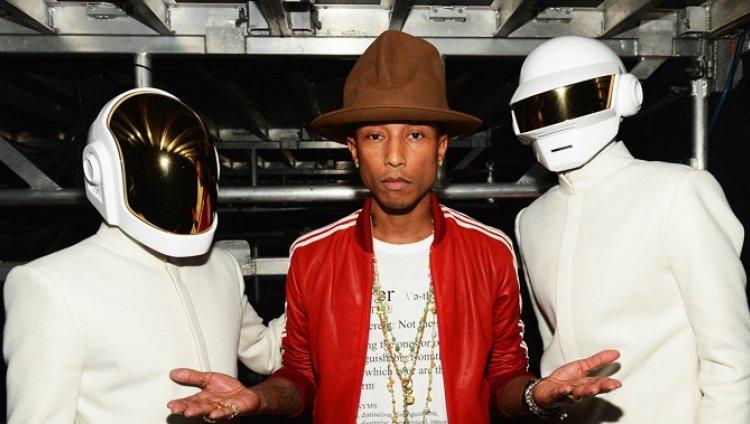 Daft Punk ahora son los invitados de Pharrell