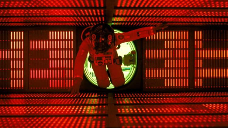Escena de '2001: Una Odisea del Espacio', cinta de 1968 dirigida por Stanley Kubrick.