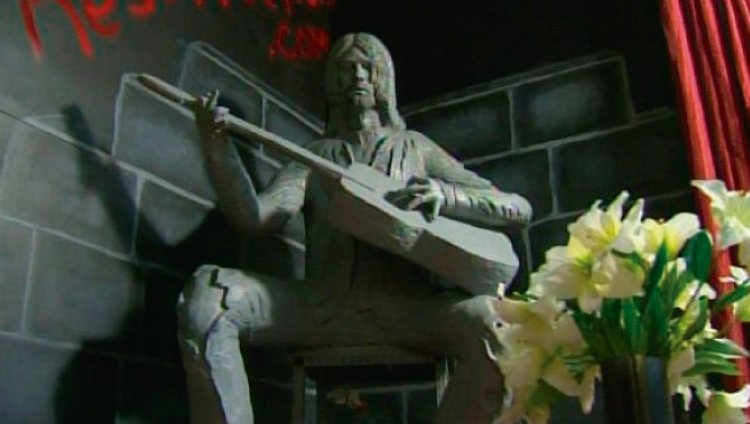 Polémica nueva estatua de Kurt Cobain