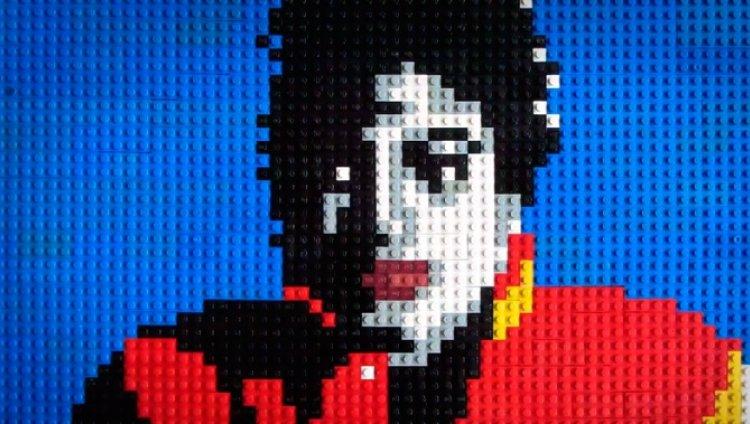 """Un """"Thriller"""" en Lego"""