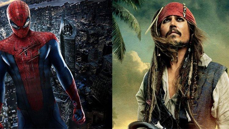 'The Amazing Spiderman 3' y 'Piratas del Caribe 5' ya tienen fecha de estreno