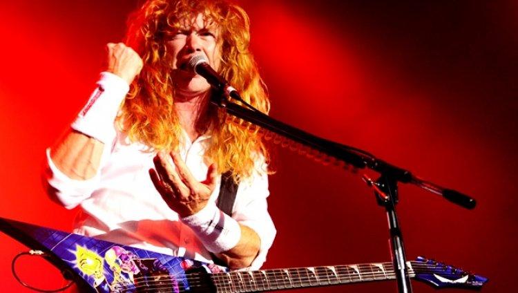Dave Mustaine en Días de Radio