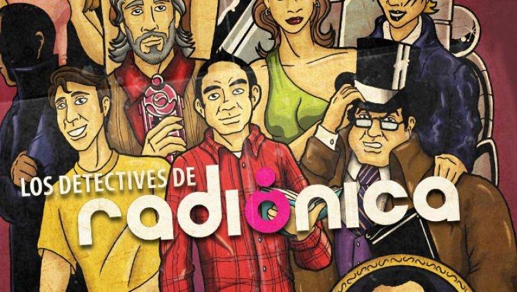Baja el cómic de los Detectives de Radiónica
