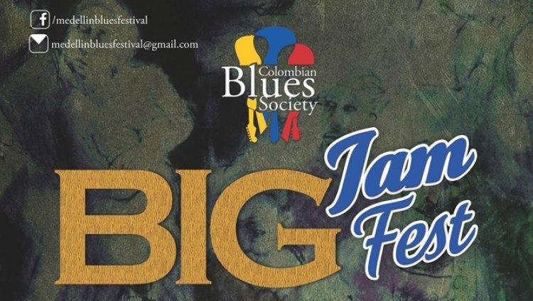 Blues colombiano en Medellín con el Big Jam Fest
