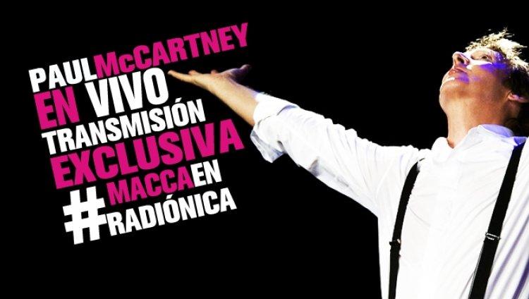 Sé parte de la leyenda: Paul McCartney en directo por Radiónica