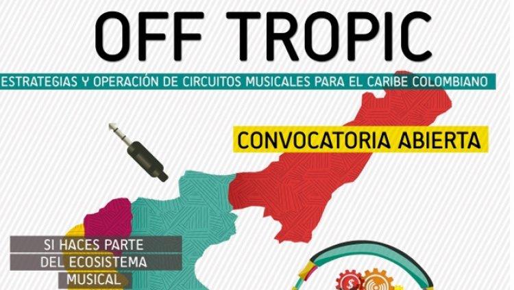 Off Tropic: convocatoria para circuitos musicales del Caribe