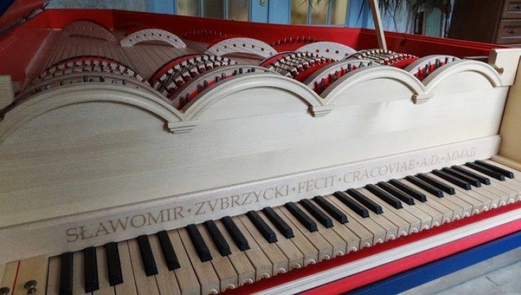 Entre planos de submarinos y armas Da Vinci inventó un piano innovador