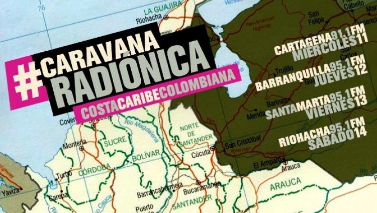 La Caravana Radiónica en la Costa Caribe