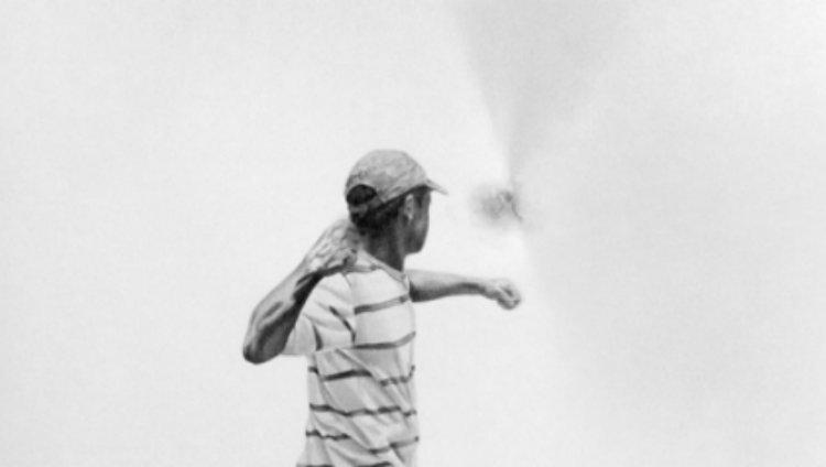 """""""La fuga del dibujo"""", obra de César Del Valle en el #43SNA"""