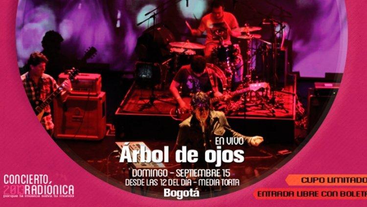 """Lleguen temprano, todas las bandas van a estar buenísimas"" Camilo de Árbol de Ojos"